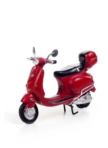 DecoTown Scooter Kırmızı Motosiklet Kırmızı